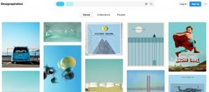 designspiration plataforma para creativos