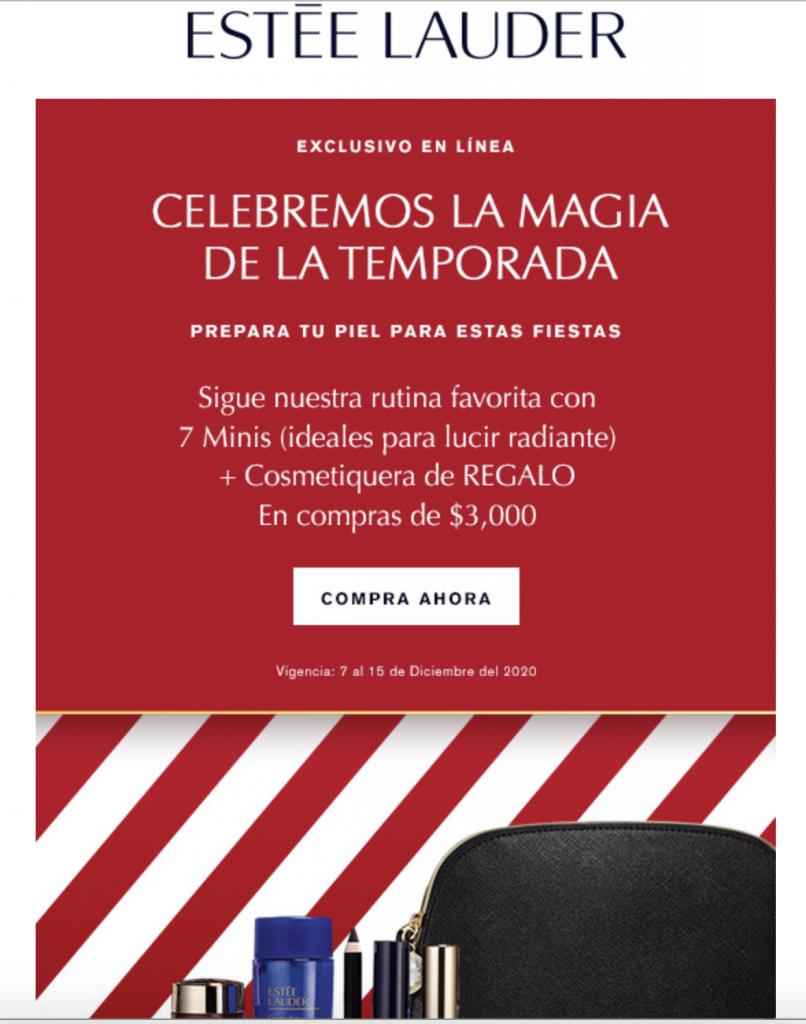 Mailing navideño Marketing Navideño
