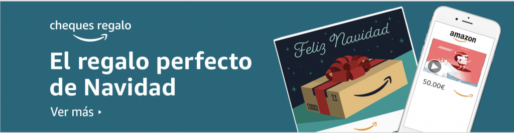Banner Amazon Marketing navideño